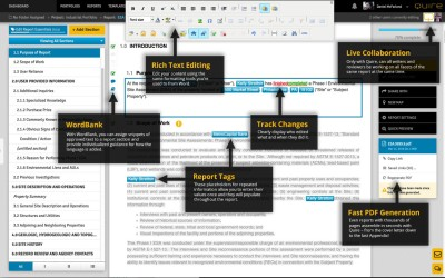 Still using MS Word and email for your environmental reports?