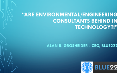 Are environmental / engineering consultants behind in technology?
